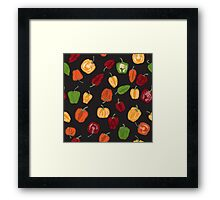 Life of spice and color Framed Print