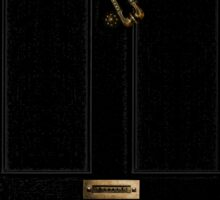 221B - turned knocker Sticker