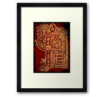 Celtic Illuminated Page Framed Print