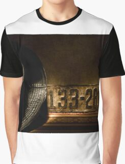 Old License Plate Graphic T-Shirt
