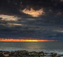 Stormy Sunset Sticker