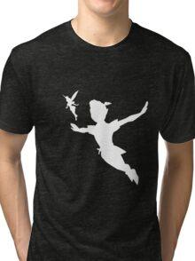 Flight Risk - White Tri-blend T-Shirt