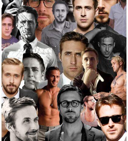 Ryan Gosling Collage Sticker