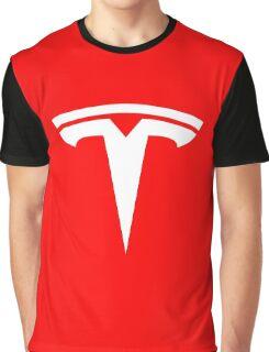 Tesla Logo Graphic T-Shirt