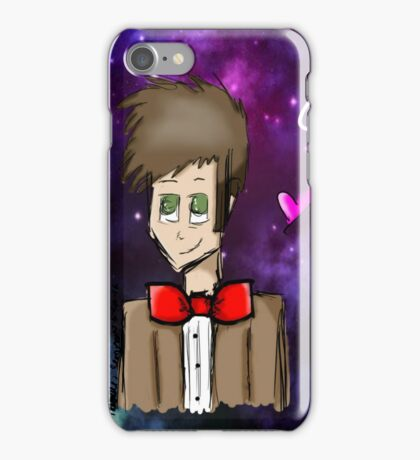 Eleventh Doctor Galaxy  iPhone Case/Skin
