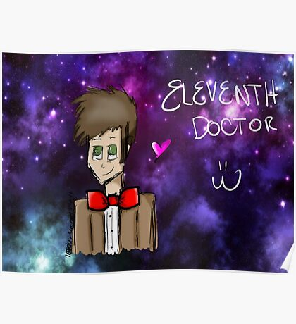 Eleventh Doctor Galaxy  Poster