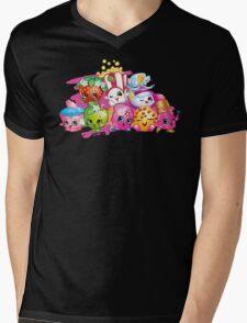 Shopkins Mens V-Neck T-Shirt