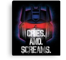 Soundwave - Cries And Screams Canvas Print