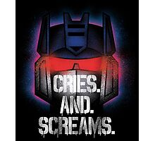 Soundwave - Cries And Screams Photographic Print