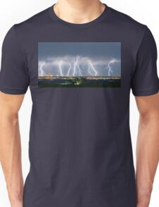 Severe Thunderstorm Panorama Unisex T-Shirt