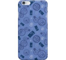 Gallifreyan Phrases - Blue iPhone Case/Skin