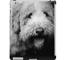 Portrait in Black & White iPad Case/Skin