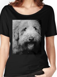 Portrait in Black & White Women's Relaxed Fit T-Shirt