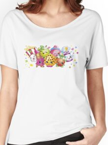 Shopkins lineup Women's Relaxed Fit T-Shirt