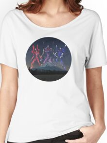 EVANGELION - MOUNT FUJI Women's Relaxed Fit T-Shirt