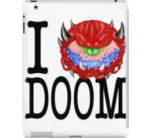 i love doom iPad Case/Skin