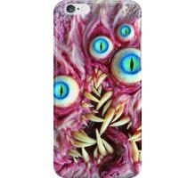 Bright eyes monster portrait iPhone Case/Skin