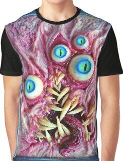Bright eyes monster portrait Graphic T-Shirt