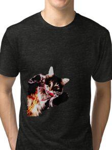 Glamour Puss Tri-blend T-Shirt