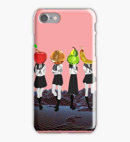Fruit Headed School Girls iPhone Case/Skin