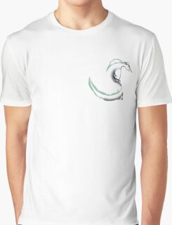 Spirited Away Haku Dragon  Graphic T-Shirt