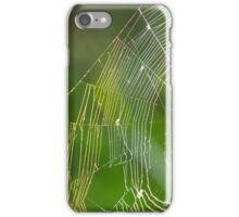 Backlit Spider Net iPhone Case/Skin