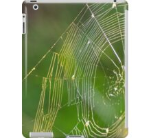 Backlit Spider Net iPad Case/Skin