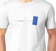 Fantastic TARDIS (in blue) Unisex T-Shirt