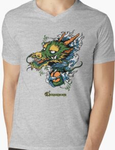 Disignious chinese dragon Mens V-Neck T-Shirt