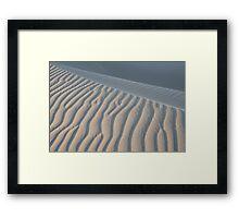 The Edge of Sand Framed Print