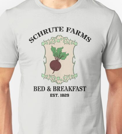 Schrute Farms Bed And Breakfast - Dwight Schrute - The Office Unisex T-Shirt