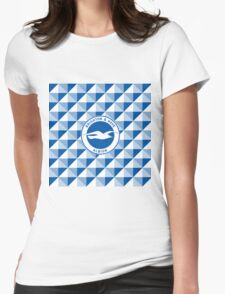 Brighton & Hove Albion football club Womens Fitted T-Shirt