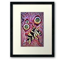 Necronomicon ex mortis 4 Framed Print