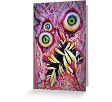 Necronomicon ex mortis 4 Greeting Card