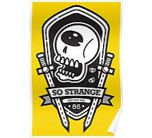 So Strange Emblem Poster
