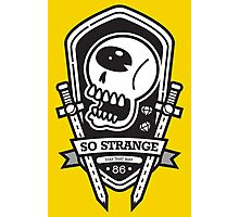 So Strange Emblem Photographic Print