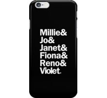 Sutton Foster Roles | Black iPhone Case/Skin