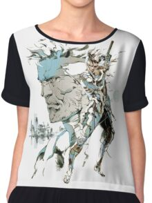 Metal Gear Solid 2: Sons of Liberty  Chiffon Top
