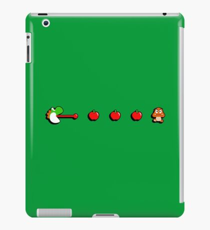 Pac-Yoshi's Healthy Appetite iPad Case/Skin