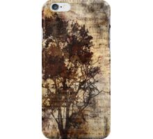 Trees sing of Time - Vintage iPhone Case/Skin