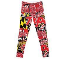 University of Maryland Collage Leggings
