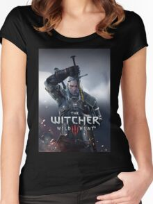 the witcher 2016 games nakula Women's Fitted Scoop T-Shirt