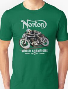 NORTON TT VINTAGE ART WINNER OF 26 RACES Unisex T-Shirt