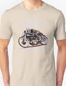 NORTON TT VINTAGE ART WINNER OF 26 RACES Unisex T-Shirt