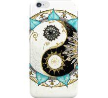 Yin and Yang Mandala iPhone Case/Skin