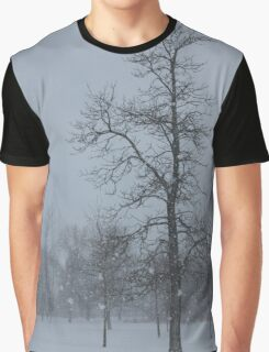 Whispering Snowflakes Graphic T-Shirt