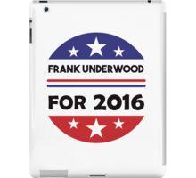 Frank Underwood 2016 iPad Case/Skin
