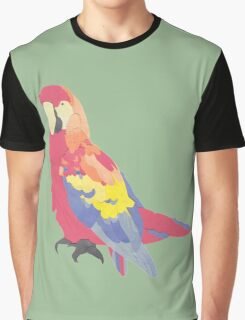 Parrot Flies by Algernon Cadwallader Graphic T-Shirt