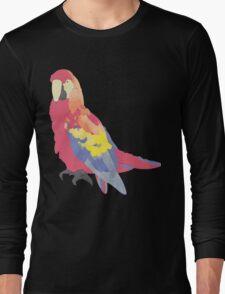 Parrot Flies by Algernon Cadwallader Long Sleeve T-Shirt