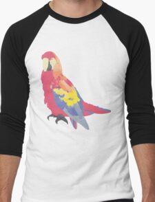 Parrot Flies by Algernon Cadwallader Men's Baseball ¾ T-Shirt